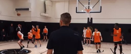 Basketball Camp: Point Guard Basketball College by Chris Filios