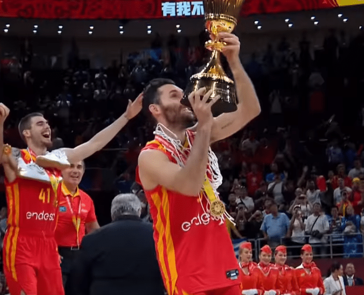 Spain Wins 2019 FIBA World Cup by Chris Filos