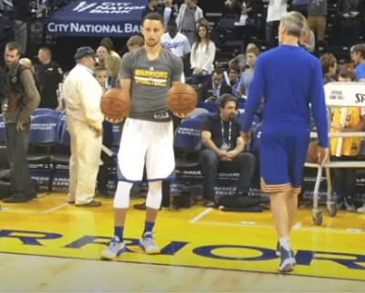 Steph Curry Driveway Ball-Handling